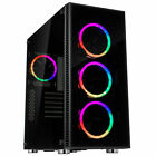 Rosewill ATX Mid Tower Gaming Computer PC Case Tempered Glass CULLINAN V500 RGB