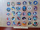30 Different NASA SPACE SHUTTLE Mission Crew Astronaut Stickers Decals Lot 2