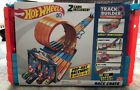 Hot Wheels Track Builder System Race Crate Pop out Raceway 3 Races In 1