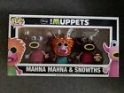 Funko Pop SDCC Exclusive Muppets Manah Manah & Snowths LTD 450 pcs Disney RARE!