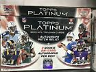 2 Box Lot - 2013 Topps PLATINUM Football Factory Sealed Hobby Box