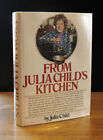 FROM JULIA CHILDS KITCHEN 1975 JULIA CHILD SIGNED VERY GOOD 1ST EDITION in DJ