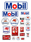 124 125 G scale model Mobil Oil gasoline station gas signs
