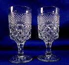 2 Wexford Water Goblets Wine Glasses 6 1/2