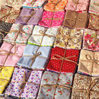 50pcs Fabric Bundle Stash Cotton Patchwork Sewing Quilting Cloth