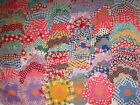 110+ VINTAGE QUILT BLOCKS GRAND MOTHER'S FLOWER GARDEN FLOUR SACKS OLD CLOTHES