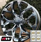 22 inch Chevy Tahoe OE Replica Snowflake Wheels Chrome Rims 22 x9 6x1397 6x550