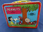 Vintage 1973 Peanuts Metal Lunch Box Psychiatric Help No Thermos