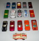 Vintage Matchbox Car Lot of 16 Mostly 1970s BMW VW Datsun Mustang