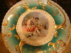 Antique French Porcelain Cabinet Plate by F. Boucher C1900