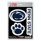 Penn State Nittany Lions Die Cut Decal Stickers 3 Pack FAST USA SHIPPER