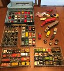 Vintage Hot Wheels Matchbox and Case Die Cast Lot of 87