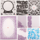 Folder Plastic Template Cutting Dies Stencil DIY Scrapbooking Album Lace Frame