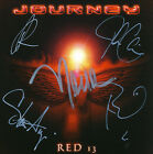Journey Red 13 (2002) EP CD Hand Signed By Entire Band (Journey) !