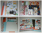 Scrapbook Kit Lot Echo Park Shimelle  Teresa Collins 45+ Value