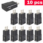 US Lot 5 50 Plug USB Power Adapter AC Home Wall Charger For Samsung S7 S6 Edge +