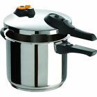 New T-Fal P2510739 Ultimate Stainless Steel Pressure Cooker 6.3Qt