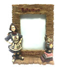 Boyds Bears 3D Domestica Super Mom Picture Frame Resin Folkstone Mothers Day