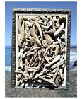Small Driftwood Arts and Crafts 1 to 5 50+ assorted pieces Calif Driftwood