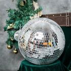 16 Large Silver Glass Hanging Disco Mirror Ball Wedding Party Decorations SALE