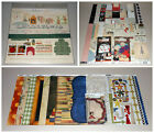 School Themed Scrapbook Kit Lot Prima Bo Bunny  Autumn Leaves