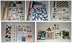 Huge Camping  Outdoors Scrapbook Lot My Minds Eye Carta Bella Bo Bunny