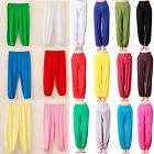 Women Kid Boy Girl Harem Trousers Baggy Dance Yoga Long Pants  Bloomers Leggings