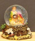 Small Nativity Scene Christmas Holiday 35 Glitter Water Ball Snow Globe