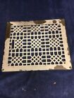 ANTIQUE VINTAGE ORNATE BRASS FLOOR REGISTER HEAT GRATE COVER 14