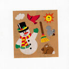 Vintage Sandylion Christmas Holiday Stickers Glitter Kromekote Prism -you Choose