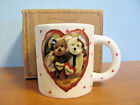 NEW IN BOX BOYDS BEARS FRIENDS FOREVER HEARTS COFFEE CUP MUG 390566
