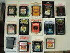 (14) 1980's Atari Video Cartridge Games With Manuals All Tested And Work