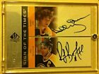 2001-02 SP Authentic Sign of the Times Bobby Orr Ray Bourque DUAL AUTOGRAPH 99