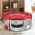 36 600D Oxford Portable Pet Puppy Soft Tent Playpen Dog Cat Folding Crate Red