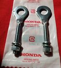 Honda CRF80 2004-13 chain adjusters with nuts & washers drive chain tensioners