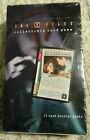 The X-Files Collectible Card Game 1 Box of 15-card Booster Packs FACTORY SEALED!