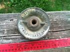 Vintage Industrial Pulley Belt Wheel, North East PA