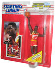 NBA Basketball Starting Lineup Dominique Wilkins Hawks Figure (1993) w/ Cards