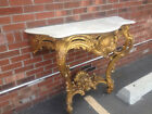 Gilt wood carved console 19th century