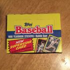 1988 Topps Baseball Yearbook Stickers Box 48 Count MLB
