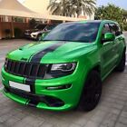 Sticker Decal Stripe full kit for Jeep Grand Cherokee Hood Bonnet Chrome Light
