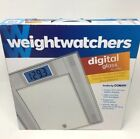 Weight Watchers Digital Glass Scale by Conair Weight Loss In Original Box