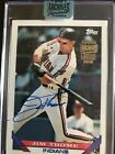 Jim Thome 2018 Topps Archives Signature Retired Auto 25 , Indians