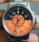 FORTIS COCKPIT AUTOMATIC S/S MENS WATCH WITH ORIGINAL BOX PAPER