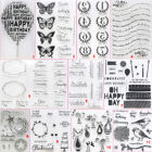Birthday Balloon Transparent Silicone Clear Stamps DIY Scrapbook Embossing Bird