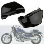 Battery Side Fairing Covers Black fit For Honda Magna VF750 VF750C 1994-2004