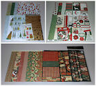 Christmas Scrapbook Kit Lot Graphic 45 Carta Bella  SEI