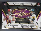 2018 Panini Certified Football Factory Sealed Hobby Box