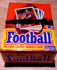 1988 Topps Football Wax Box (36 Packs) Cellophane Wrapped VERY NICE BOXES!