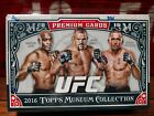 2016 Topps UFC Museum Collection MMA Factory Sealed Hobby Box